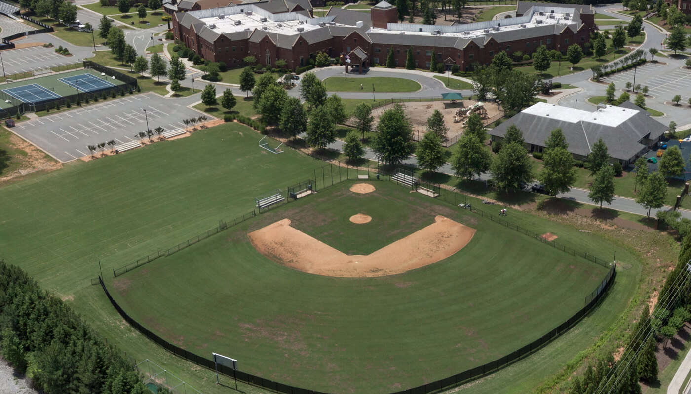 Middle School Baseball Field and Practice Fields
